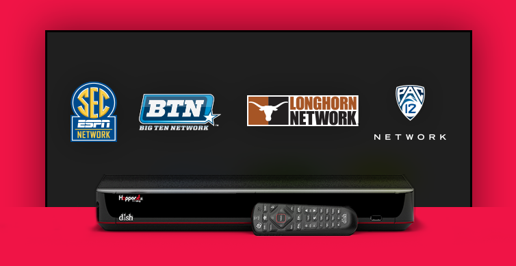 DISH College Sports TV Packages - Trinity, Texas - Trinity Custom Satellite - DISH Authorized Retailer